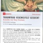 Traumfrau verzweifelt gesucht, Theater_Text Cornelia Kerber