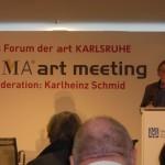 ART Karlsruhe 2011, Werner Büttner, Preisträger des Hans Platschek Preises (c) Cornelia Kerber