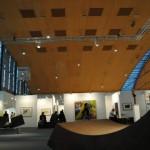 art KARLSRUHE 2014, Fotos (c) Cornelia Kerber. www.cornelia-kerber.de (123) Skulpturenplatz BEGE Galerien, Ulm Perspektiven aus Stahl