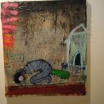 "art KARLSRUHE 2014, Fotos (c) Cornelia Kerber. www.cornelia-kerber.de (126) Galerie Hosp, Nassereith, Österreich Künstler: Peter Kohl Titel: Blumen Wiese"""