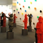 art KARLSRUHE 2014, Fotos (c) Cornelia Kerber. www.cornelia-kerber.de (154) Maisenbacher Art Gallery, Trier Künstler: Ottmar Hörl Figuren: Kunststoff-Multiple
