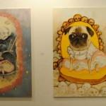 art KARLSRUHE 2014, Fotos (c) Cornelia Kerber. www.cornelia-kerber.de (90) Künstler: Christian Joramillo Braun-Falco Galerie, München