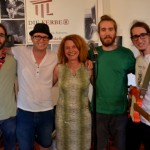07-2016, DIE KERBER, Cornelia Kerber mit The S&B Bluesband (Marco Besel, Markus Steinrück, Tobias Steinrück, Fabian Steinrück), Theresienkeller