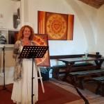 08-2016, DIE KERBER; Cornelia Kerber, Vernissage Maria M. Schrettl, Laudatorin Cornelia Kerber, Theresienkeller