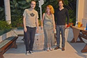 09-2016, DIE KERBER; Cornelia Kerber mit dem Duo Igmar Jenner und Borut Mori, Theresienkeller