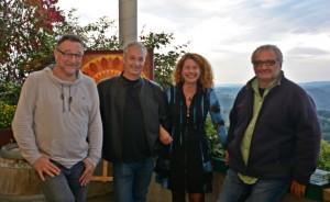 10-2016, DIE KERBER, Cornelia Kerber mit dem Howling Wuif Trio (Wolfgang Maria Gran, Dieter Libuda, Oliver Jung), Theresienkeller