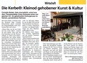 Artikel in Gleinstätten, 13.12.2016 DIE KERBER, Theresienkeller, Cornelia Kerber