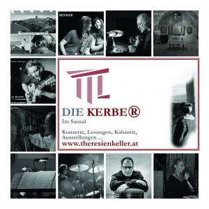 DIE KERBER, Cornelia Kerber, Veranstaltungen Theresienkeller, Collage